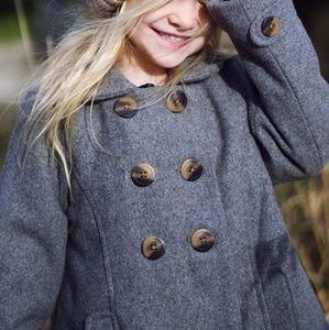 Girls Pea Coat